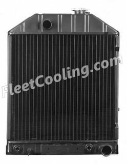 Picture of Ford / New Holland Radiator - Solder On Tank TR7844