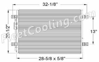 Picture of Freightliner Condenser AC0986