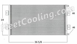 Picture of Sterling Condenser AC2200