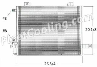 Picture of Sterling Condenser AC2201