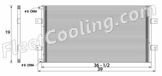 Picture of Ford / Sterling, Sterling Condenser AC2460