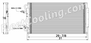 Picture of Chevrolet / GMC Condenser AC7007