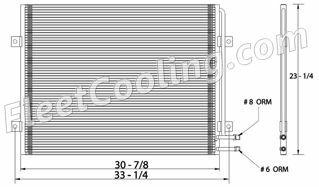 Picture of Mack Condenser AC7008